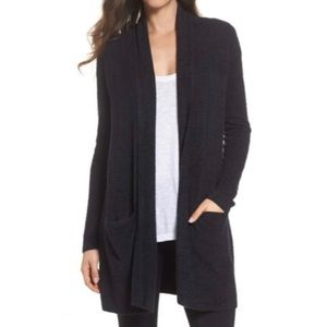 Barefoot Dreams Navy Blue Essential Cardigan